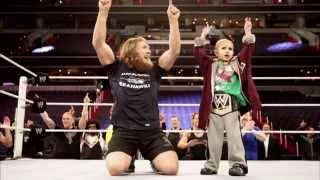 getlinkyoutube.com-WWE, Daniel Bryan honor Connor the Crusher, a young fan who died