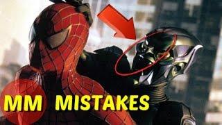 8 Hidden Movie You Missed In Spiderman |  Spiderman MOVIE MISTAKES