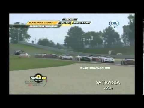 Accidente con un Lamborghini GT