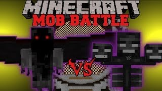 DEMON ANGEL VS. WITHER BOSS - Minecraft Mob Battles - Mists of Riov Battle