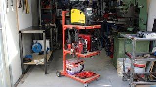getlinkyoutube.com-carrello porta saldatrice fai da te (homemade welding cart)