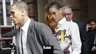 getlinkyoutube.com-Chris Brown & Rihanna Go To Court Together