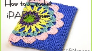 getlinkyoutube.com-How to Crochet an iPad Cover