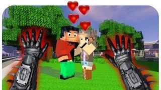 getlinkyoutube.com-Realistic Minecraft: Steve Gets a GIRLFRIEND! (Realistic Minecraft Mod)