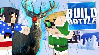 getlinkyoutube.com-Minecraft Christmas Build Battle: REINDEER