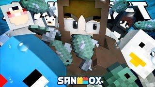 getlinkyoutube.com-바다사자 도티, 펭귄 잠뜰, 북극곰 쵸쵸우 ㅋㅋ [누가누가 오래사나 : 마인크래프트] Minecraft - Don't Starve - [도티]