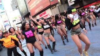 getlinkyoutube.com-BRUKWINE Flash Mob in Times Square NYC