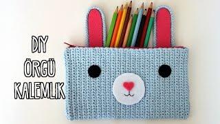 getlinkyoutube.com-Kendin Yap Örgü Kalemlik / Dıy Crochet Pencil Case