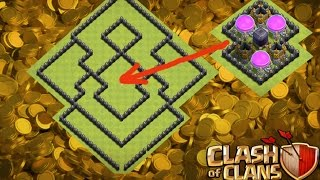 Town Hall 8 (TH8) Farming Base/ SPEED BUILD - ANTI 2 STAR /CLASH OF CLANS 2016