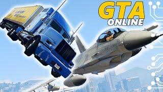 getlinkyoutube.com-GTA 5 Online Угар - Летающий грузовик