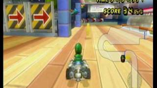 getlinkyoutube.com-Mario Kart Wii 7/10 1st Tournament