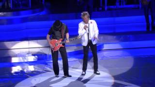 getlinkyoutube.com-Rod Stewart & Santana Perform Live In Las Vegas