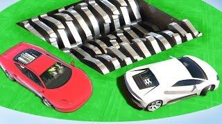 getlinkyoutube.com-EXTREME CAR SHREDDER DERBY (GTA 5 Funny Moments)