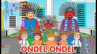 ONDEL ONDEL (lagu daerah Betawi) | Diva Bernyanyi | Lagu Daerah | Lagu Anak Channel
