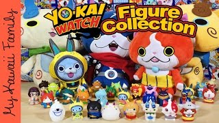 getlinkyoutube.com-New Yo-Kai Watch Figure Collection! Japan Yo-Kai Watch Toys! My Kawaii Family