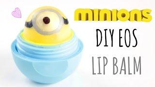 getlinkyoutube.com-DIY Minions EOS Lip Balm ☉