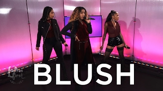 Hip Hop Group Blush Talks Boss Matthew Knowles & Performs on Ladies First