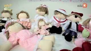 getlinkyoutube.com-Curso online de Bonecas de pano para quarto de bebê | eduK.com.br
