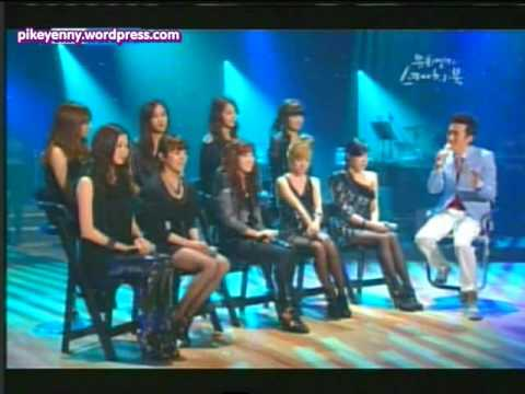 100508 SNSD @ Yoo Hee Yeol's Sketchbook Part 1 eng sub