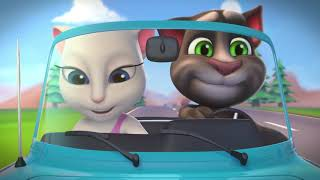 getlinkyoutube.com-Talking Tom Shorts ep.20 - Hit the Road