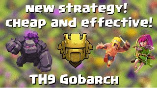 getlinkyoutube.com-TH9 Gobarch new cheap effective strategy in Titan/Champ | TH9 vs TH10  | Quantum´s 8.9 TH9 TITAN