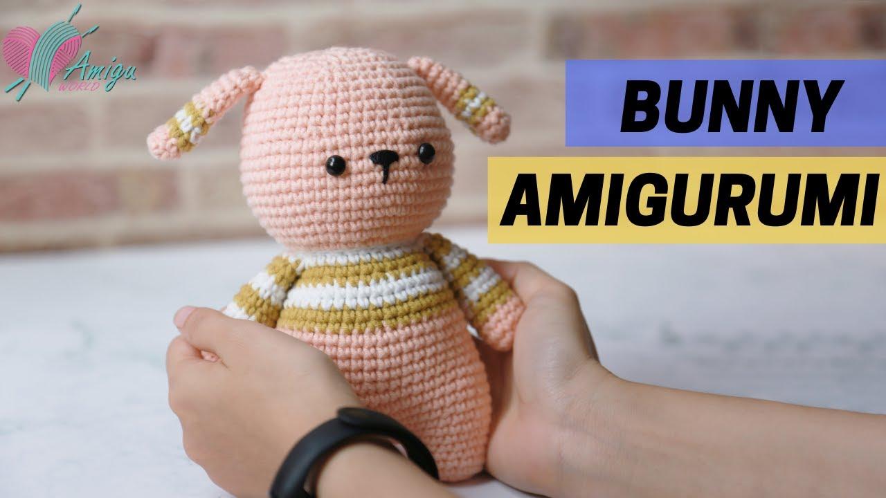 FREE Pattern – How to crochet a BUNNY amigurumi pattern