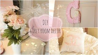 getlinkyoutube.com-DIY girly room decor ♡