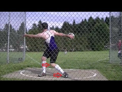 Starting your Spin (Pivot Foot) Discus 101