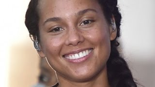 The Real Reason Alicia Keys Stopped Wearing Makeup