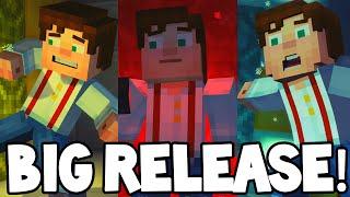 "getlinkyoutube.com-Minecraft Story Mode - EPISODE 6-8 - BIG RELEASE! ""Adventure Pass"""