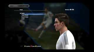 getlinkyoutube.com-Gareth Bale and Neymar new face,hairstyle,boots Pes13