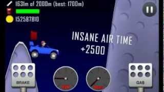 getlinkyoutube.com-Hill Climb Racing: 1752 meters on Moon