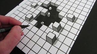 getlinkyoutube.com-How to Draw a Hole: 3D Illusion