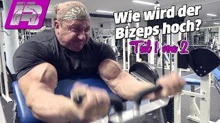 getlinkyoutube.com-Wie wird der Bizeps massiv und hoch? Bodybuilding-Tipps (Teil 1/2)