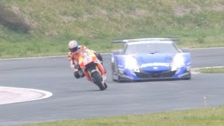 getlinkyoutube.com-RC213V vs HSV-010 GT Enjoy HONDA 2015 HSR九州