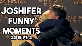 getlinkyoutube.com-Jennifer Lawrence Josh Hutcherson Funny Moments 2015 Part 2