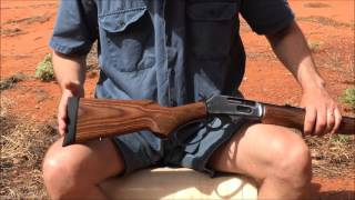 getlinkyoutube.com-Marlin 1895 GBL in 45-70 Govt review