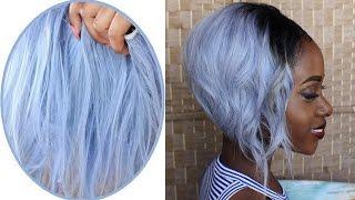 getlinkyoutube.com-How To Dye Hair Silver/ Grey (BSS Hair)
