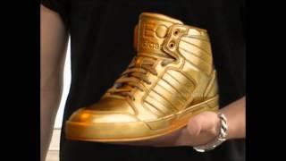 getlinkyoutube.com-Justin Bieber shoes 2013 (Supra & NEO adidas)