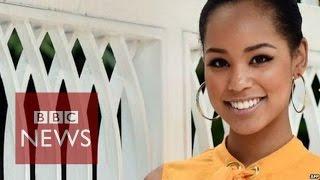 "getlinkyoutube.com-""People don't believe I am Japanese"" says Miss Japan - BBC News"