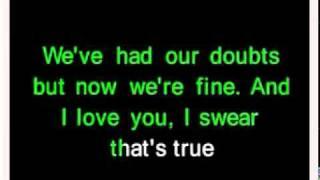 getlinkyoutube.com-Goodbye my lover- james blunt (karaoke)