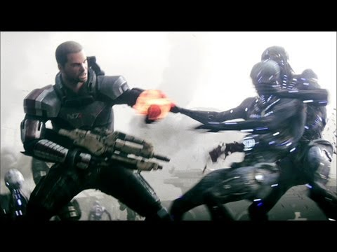"Mass Effect 3 - Full ""Take Earth Back"" Cinematic Trailer (2012) 