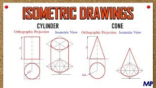Isometric View_Cylinder & Cone