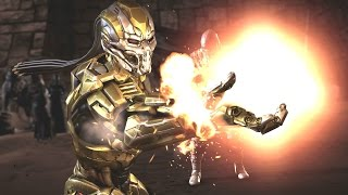 getlinkyoutube.com-Mortal Kombat XL - Cyber Scorpion Costume / Skin *PC Mod*