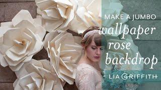 getlinkyoutube.com-Wallpaper Flower Backdrop