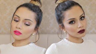 getlinkyoutube.com-Tutorial   Day Glam to Night Glam Makeup Tutorial ad   Kaushal Beauty