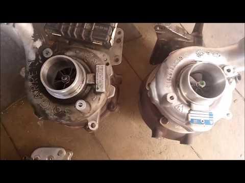 058(1) снятие,демонтаж турбины 3.0 TDI Audi Q7,A6,VW Touareg