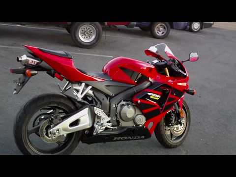 Contra Costa Powersports 2005 Honda CBR 600RR Used Motorcycle Sport Bike