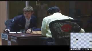 getlinkyoutube.com-The moment Magnus Carlsen became World Chess Champion