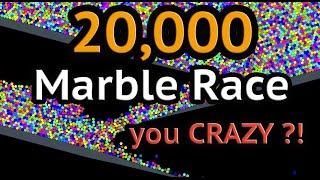 getlinkyoutube.com-20000 Marble Race! Only ONE WINNER